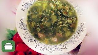 Зеленый борщ со щавелем без зажарки (Вкусно!). Первые блюда.