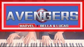 Avengers OST (어벤져스) 4hands piano