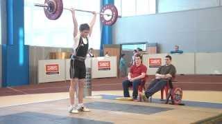 Шутилов Иван, 13 лет, вк 62 Толчок 90 кг Пер-во области