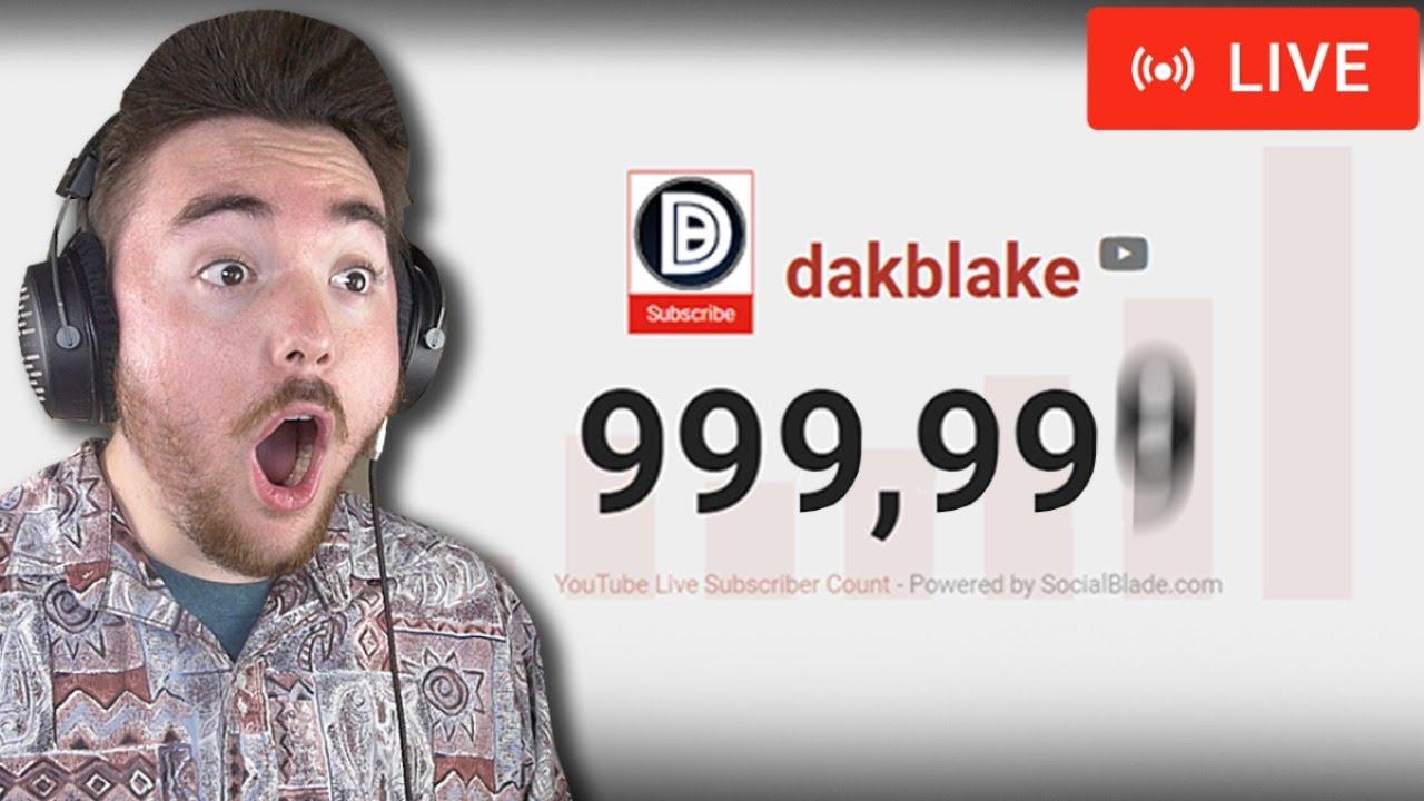 ALMOST 1 MILLION!!! (Live Stream)