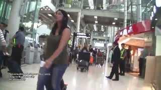 2015 Can you walk? Suvarnabhumi International Airport Bangkok - HD