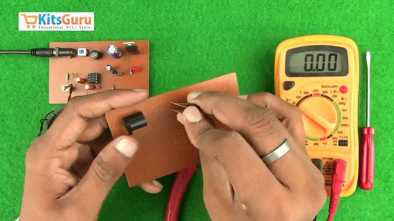 Sound Generator With Multiple Sounds By Kitsgurucom Lgkt099 Youtube Multitone Door Bell Circuit