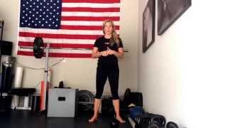 Karen Smith Master SFG - Pistol Squat vs Single Leg Squat