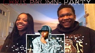 Chris Brown- Party Ft. Gucci Mane, Usher Mv Reaction// Ft. My Bestie Bae😍