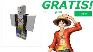 HOW TO HAVE THE WHOLE LUFFY OUTFIT FOR FREE (ROBLOX)