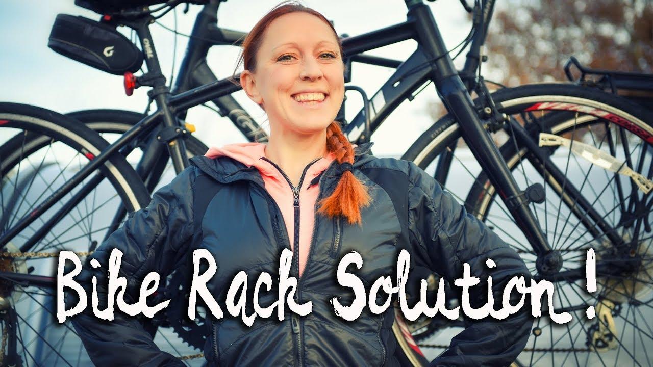 vlog 23 bike rack solution for your trailer