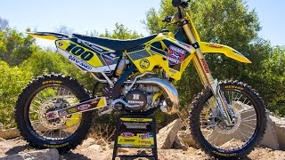 We took a trip down memory lane to bring this 2006 Suzuki RM250 two...