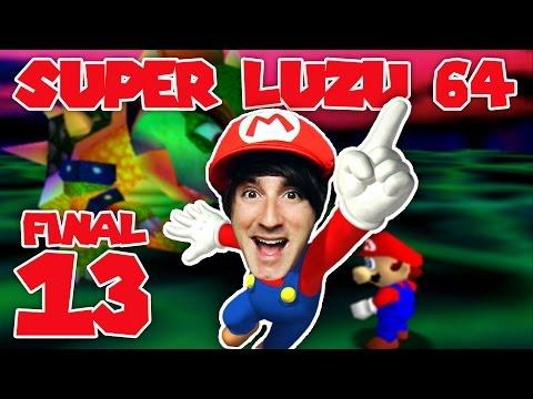 LA PELEA FINAL! - E13 FINAL SUPER MARIO 64 - [LuzuGames]
