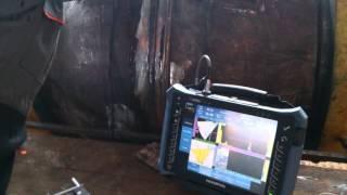 Ультразвуковой дефектоскоп на фазированных решетках антеннах Olympus OmniScan(Ультразвуковой дефектоскоп на фазированных решетках антеннах Olympus OmniScan MX2., 2014-05-29T20:12:25.000Z)