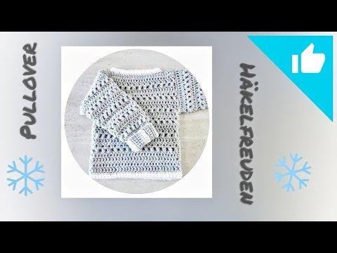 Pullover Häkeln Einfaches Aber Schönes Muster Youtube