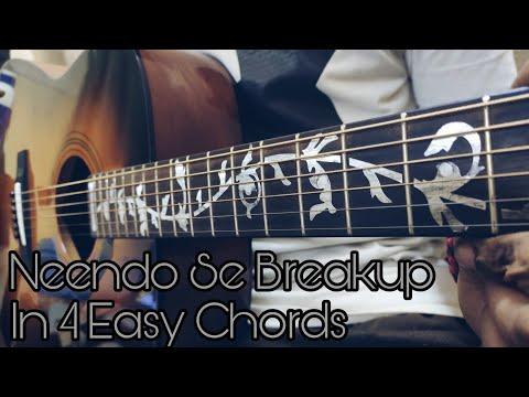 neendo-se-breakup-in-4-easy-chords-|guitar-lesson-|-meet-bros,-nikhil-d'souza