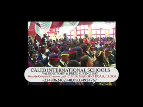 Caleb International schools graduation party 2014
