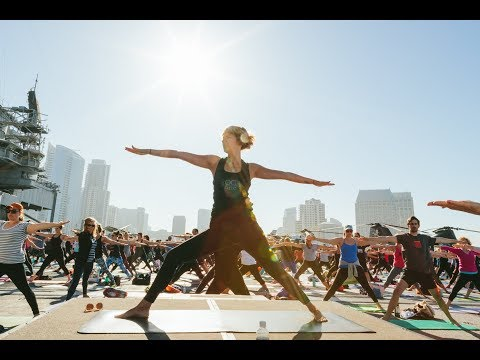 5th Annual Yoga on the USS Midway Recap
