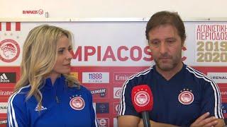 Δηλώσεις κ. Μαρτίνς (Κλήρωση του Europa League) / Mr. Martins' statement (Europa League draw)