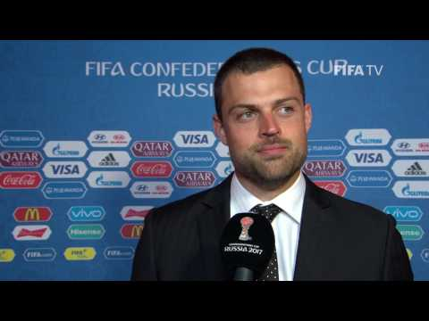 Stefan Marinovic Post-Match Interview - Match 10: New Zealand v Portugal - FIFA Confederations Cup