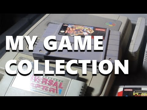 My Video Game Collection - From Atari 2600 to Sony PS4