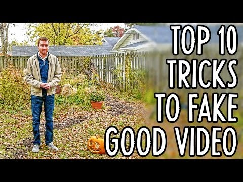 10 Tricks for Amateur Filmmakers