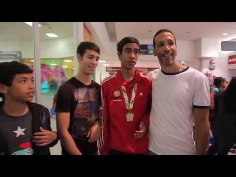 VNR Llegada de los equipos de Baloncesto Masculino y Volleyball Femenino
