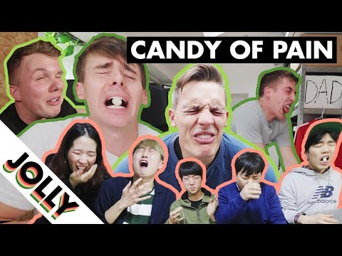 WORLDS MOST SOUR CANDY CHALLENGE (feat. Wootso)