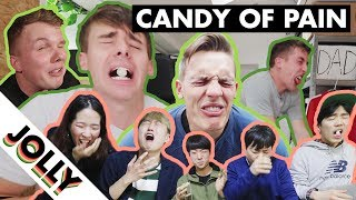 WORLD'S MOST SOUR CANDY CHALLENGE