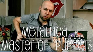 Master Of Puppets - Metallica Fingerstyle Guitar Cover