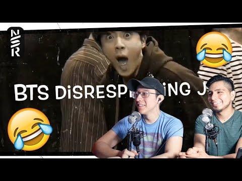 GUYS REACT TO 'BTS Disrespecting Jin'