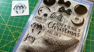 WOW! - How to: Jingle Bell Layering Stamp | Sunny Studio Stamps | Holiday Style