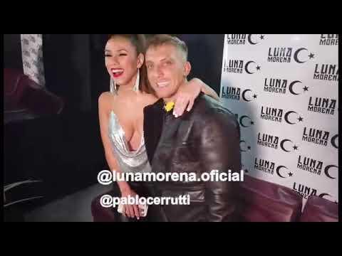 El Polaco y Barby Silenzi juntos en la inauguración de Luna Morena