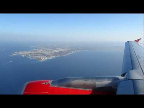 A319 Flight to Rhodes - Rhodos Anflug *airberlin* from YouTube · Duration:  2 minutes 43 seconds