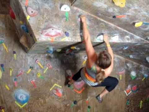 how to get better in rock climbing