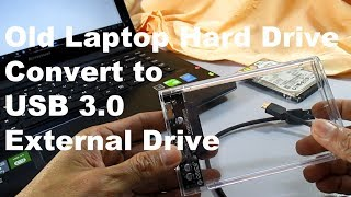 How to DIY USB 3.0 External Hard Drive, Transfer 590MB in 15 Seconds High Speed