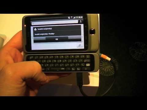 HTC Desire Z quick play