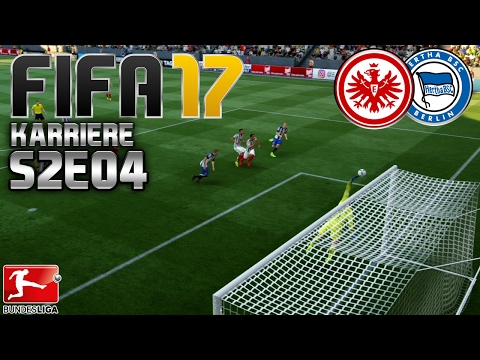 FIFA 17 KARRIERE ⚽️ S02E04 • 1. SPIELTAG: Eintracht Frankfurt vs. Hertha BSC