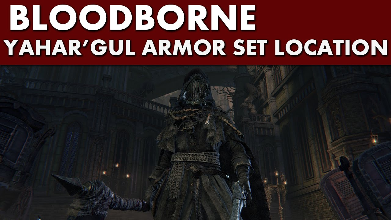 bloodborne how to get madman set