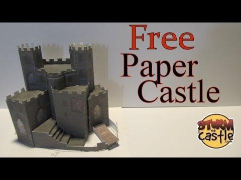 Free Paper Castle