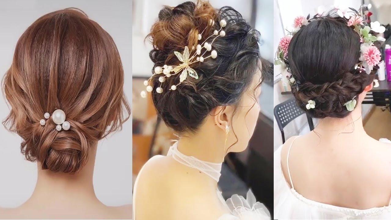 Cách Tết Tóc Tuyệt Đẹp Đơn giản, Tóc Cô Dâu, Tóc Dự Tiệc   Hairstyles For Wedding