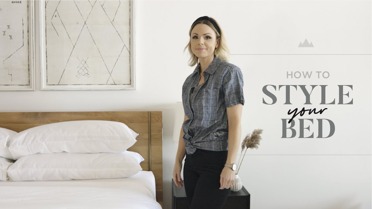 How To Style Your Bed Like A Designer