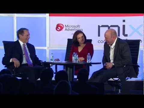 Charlie Rose, Sheryl Sandberg, and Marc Andreessen Predict 5 Years From Now - IAB MIXX 2012