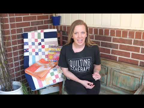 Help! How Do I Quilt It?! Tips for Machine Quilting Nine-Patch Quilt Blocks with Angela Walters
