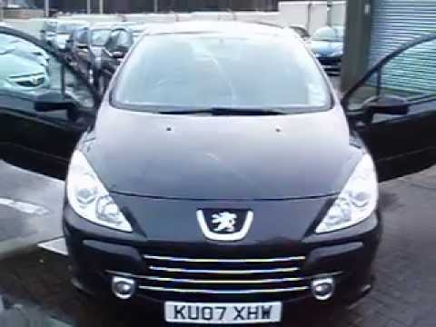 peugeot 307 1 6 hdi 110 2007 wirral small cars youtube. Black Bedroom Furniture Sets. Home Design Ideas