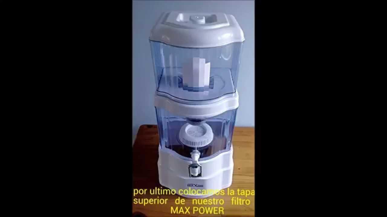 Instalacion de filtro purificador de agua agua for Purificadores de agua domesticos