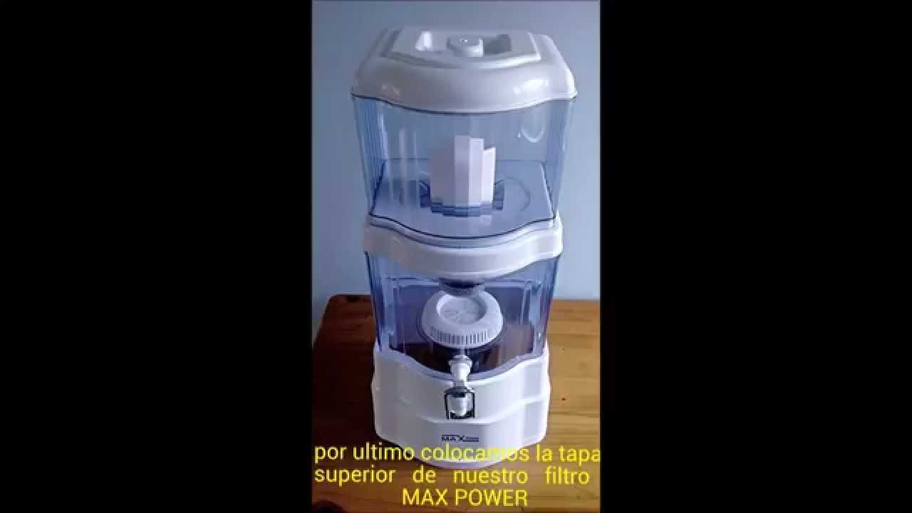 Instalacion de filtro purificador de agua agua - Filtros de agua domesticos ...