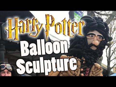 Hagrid Balloon Cosplay