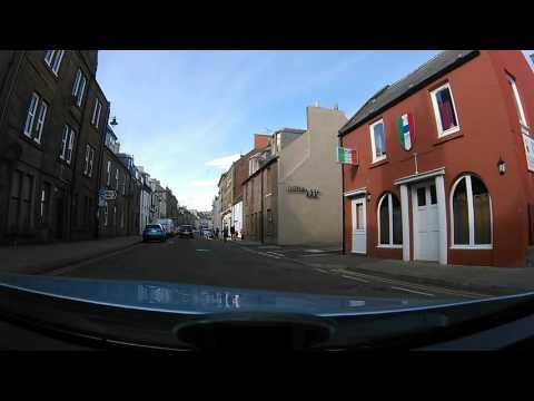 A drive round arbroath Scotland