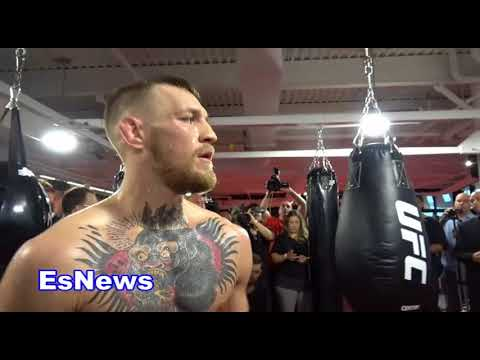 ((Uncut)) Conor McGregor & Dana White They Plan To KO Floyd Mayweather in 1 rd EsNews Boxing