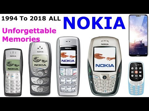 Nokia Unforgettable Memory - ALL Nokia Mobils 1994 To 2018