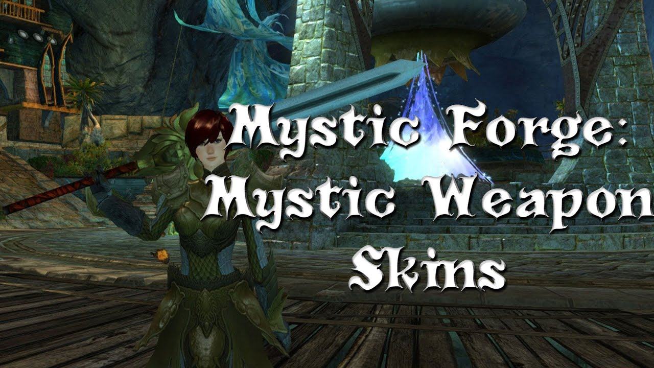 Guild Wars 2 Mystic Forge Secrets Mystic Weapons Also Gold