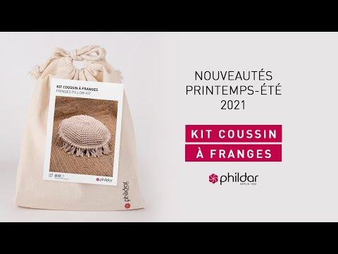 DÉCOUVREZ NOS NOUVEAUTÉS EN VIDÉO - Kit Coussin à Franges
