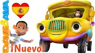 Download 🚌 Las Ruedas del Autobús Parte 1 | Canciones Infantiles de Dave y Ava 🚌 Mp3 and Videos
