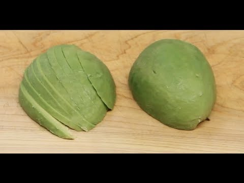 How to Slice Avocado for Sushi